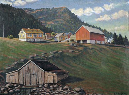 Larsgarden før 1920 (E. Furnes)